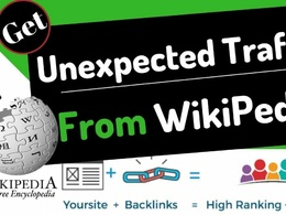 Create 3 High Authority Wikipedia Backlinks for your Website