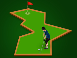 Sell and Design Mini Golf multiplayer game for iOS and Android