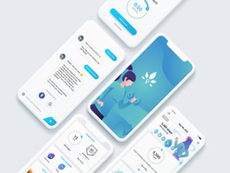 Design High-End Mobile Application UI Design ( iOS / Android )