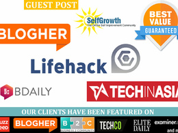 Publish guest post on thebaynet, patreon,SelfGrowth & dailygram