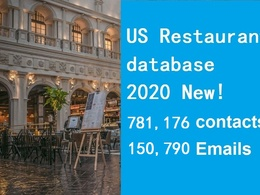 Provide USA Restaurant Database include email phone contact