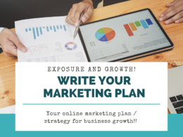 Create your bespoke online marketing plan strategy
