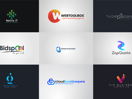 Design your logo with unlimited Revisions.