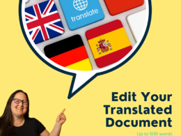 Professionally edit and rewrite your translated document