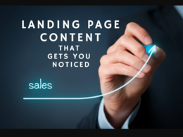 Write a Professional Landing Page