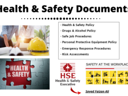 Write industry related Health and Safety Documents