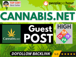 ★ Write Publish HQ guest post on cannabis.net - DoFollow - CBD ★