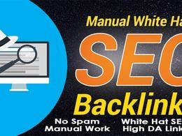 Create white hat seo High DA backlinks