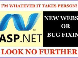 Design & Development or fix error in asp.net MVC website FULLY!
