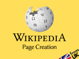 Create and publish a Wikipedia page for your business