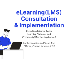 Do a consult on elearning and lms websites or platforms