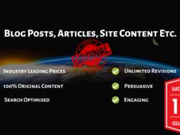 Create 600 words of unique B2B content