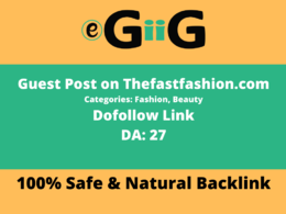 Guest Post On thefastfashion.com a Fashion And Beauty Blog