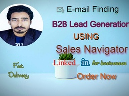 Provide 500 leads, data entry and web research work for you