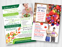 Design your perfect new flyer or advert