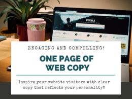 Write website copy with clarity & personality to engage readers