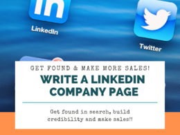 Write your LinkedIn company page profile - search friendly