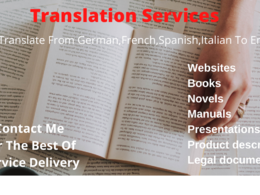 Translate german,french,spanish and italian to english