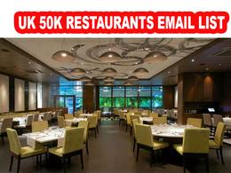 UK Restaurants Email Database List 50K Addresses