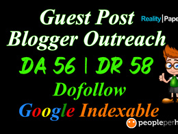 Publish high quality dofollow guest post on DA 56, DR 58 site