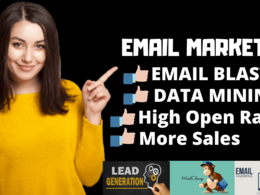 Do Email Blast Bulk mail Campaign for you 100000 Email Marketing