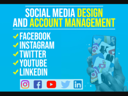Design professional social media post.