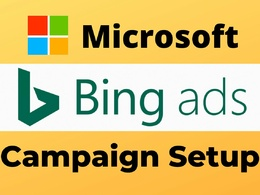 Setup and optimize profitable Bing ads PPC campaign