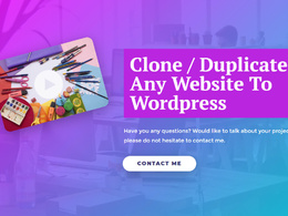 Clone WordPress website, transfer, duplicate  elementor pro