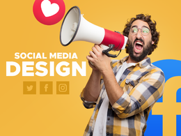 Design social media post for your Facebook or instagram