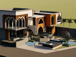 Create you a professional architectural project.