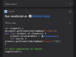 Create an iOS shortcut