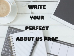 Write your perfect about us page