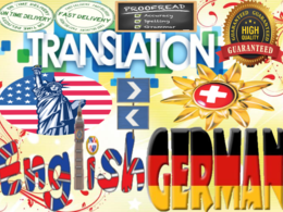 Professionally translate English to German, Swiss German and vv