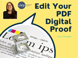 Professionally proofread your PDF digital proofs