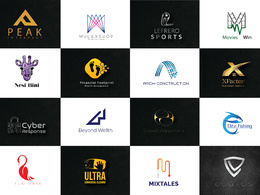 100% Original Bespoke logo + unlimited revisions