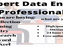 Enter 500 data entries in to excel sheet by data collection