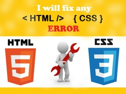 Edit or fix any html, css, javascript code webside