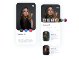 Develop a dating app based on your features