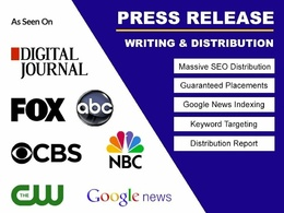 Press Release on Fox, CBS, Marketwatch, Digital Journal & 300+