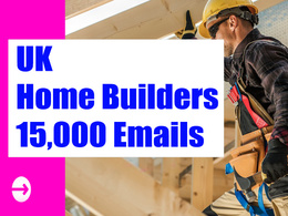 UK Home Builders Email list, Email Database, 15K Email Addresses