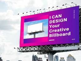 Design your awesome and creative billboard or signage
