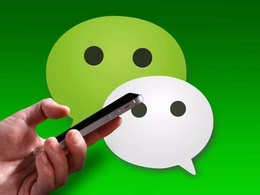 Scan your QR code for signing up wechat account