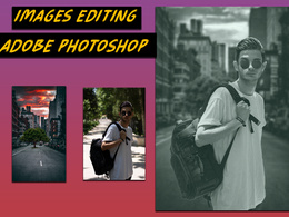 Mix your  portrait  photo with any imeages creatively
