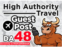 Do guest post on high quality travel blog