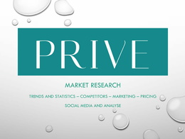 Prepare a market research and competitive intelligence report