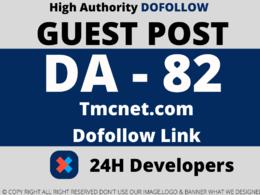 Publish guest post on tmcnet.com