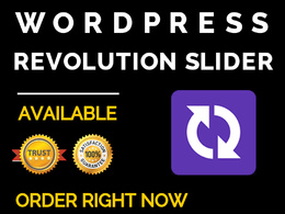 Design and Create a Eye Catching Animated Revolution Slider