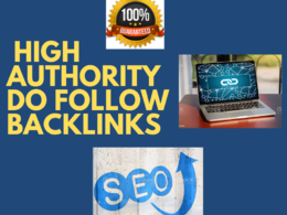 Make unique domain SEO backlinks on high domain authority sites