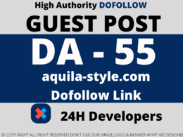 Publish a Guest Post on aquila-style/aquila-style.com DA 55