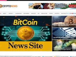 Build autopilot crypto bitcoin news site for passive income